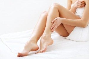 smooth hair-free legs