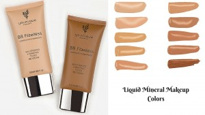 Liquid Mineral Makeup Colors