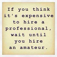 hire an expert
