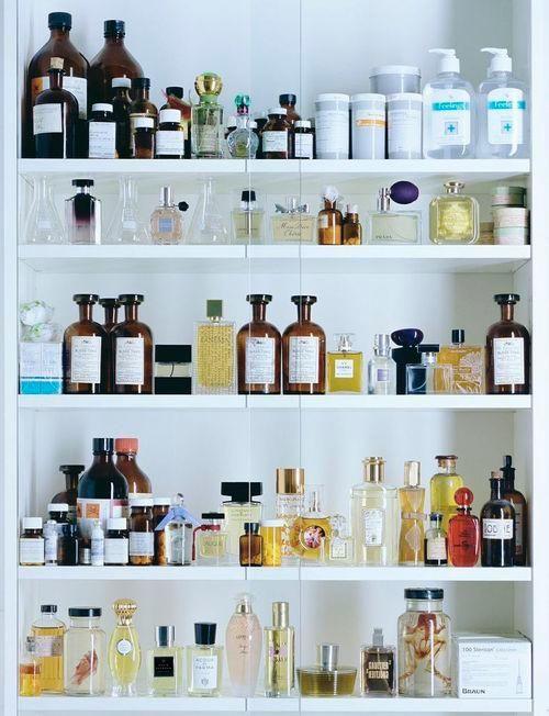 too many beauty products
